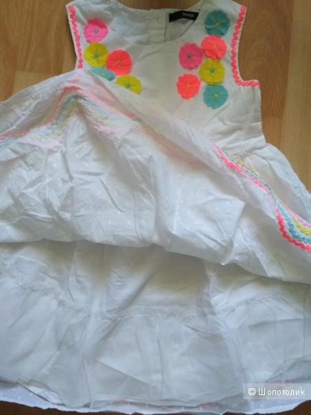 Сет платье George ободок hm размер 110/116