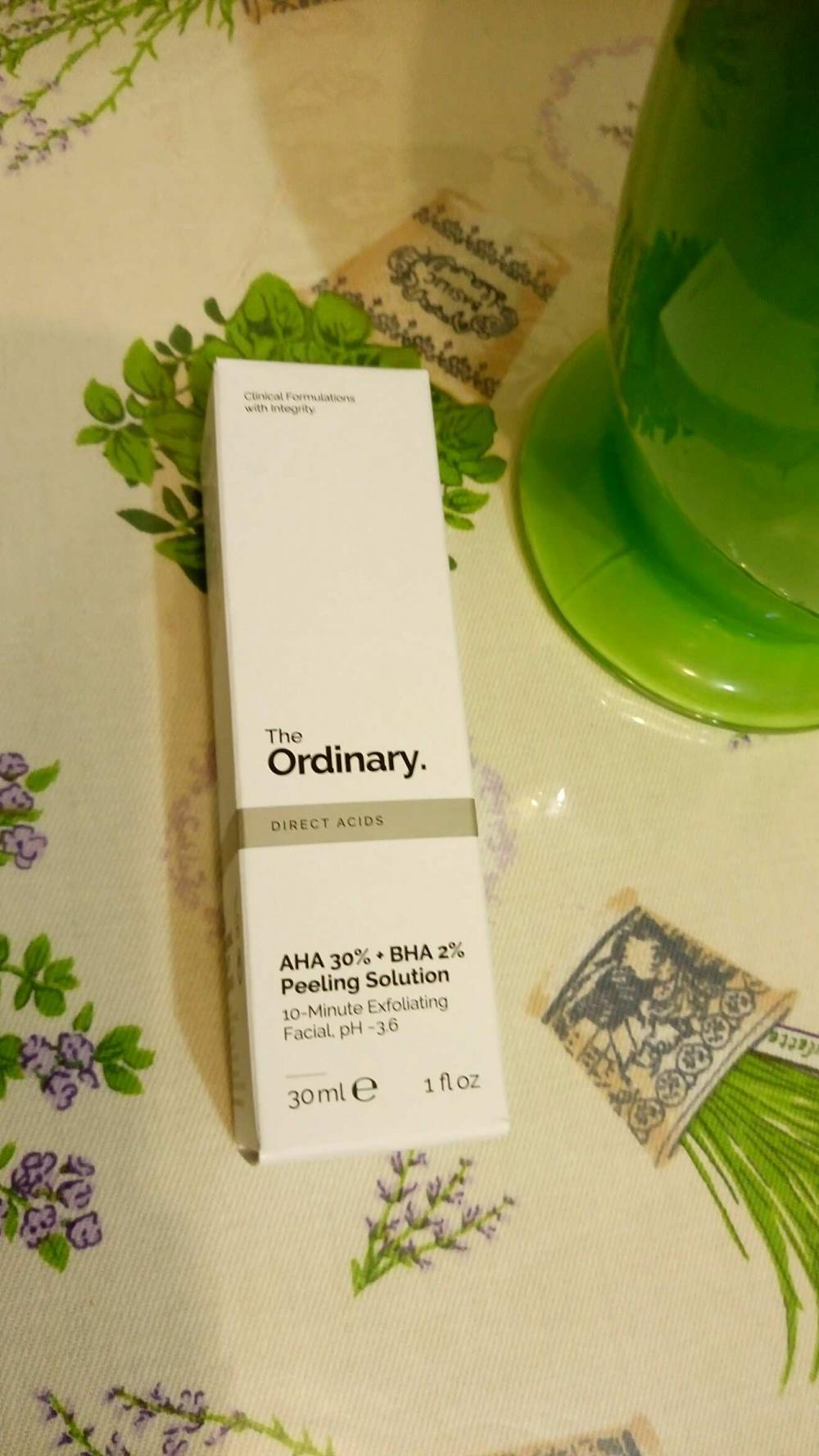 Сыворотка The Ordinary AHA 30% + BHA 2% Peeling Solution 30ml