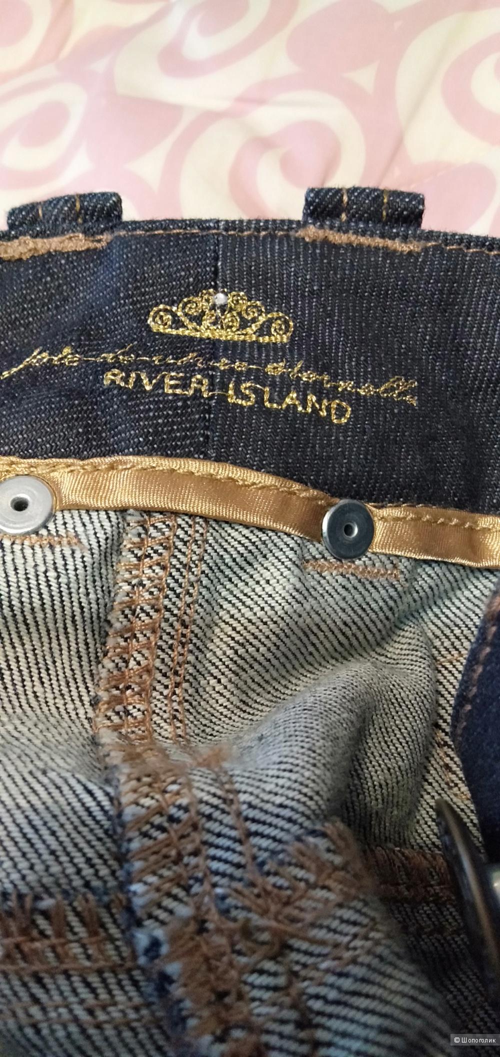 Джинсы скинни River Island размер 14