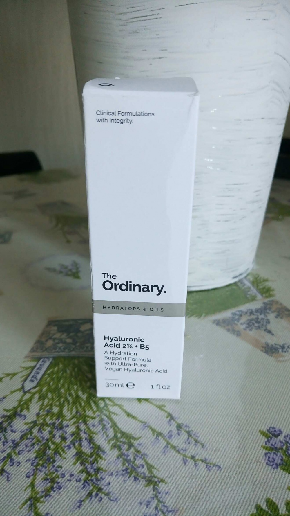 Сыворотка The Ordinary Hyaluronic Acid 2% + B5 30ml
