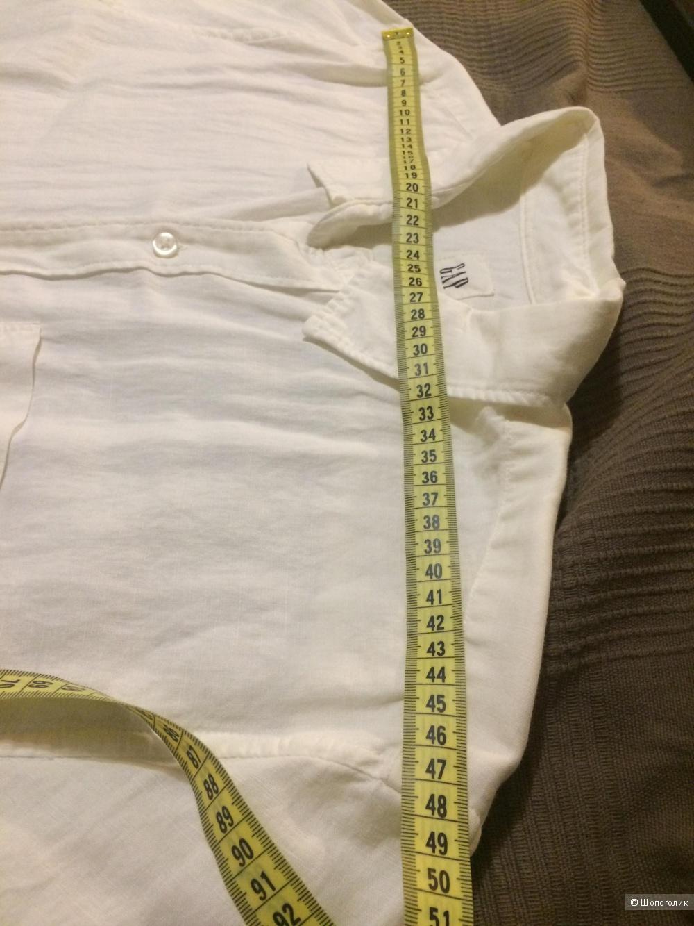 Белая сорочка GAP размер L