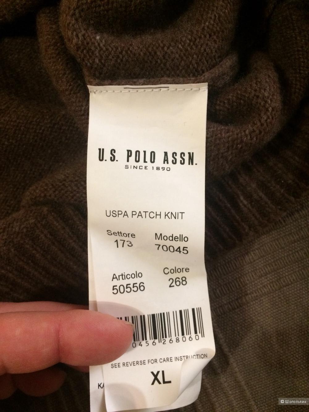 Свитер US Polo Assn размер XL (идет на Л)