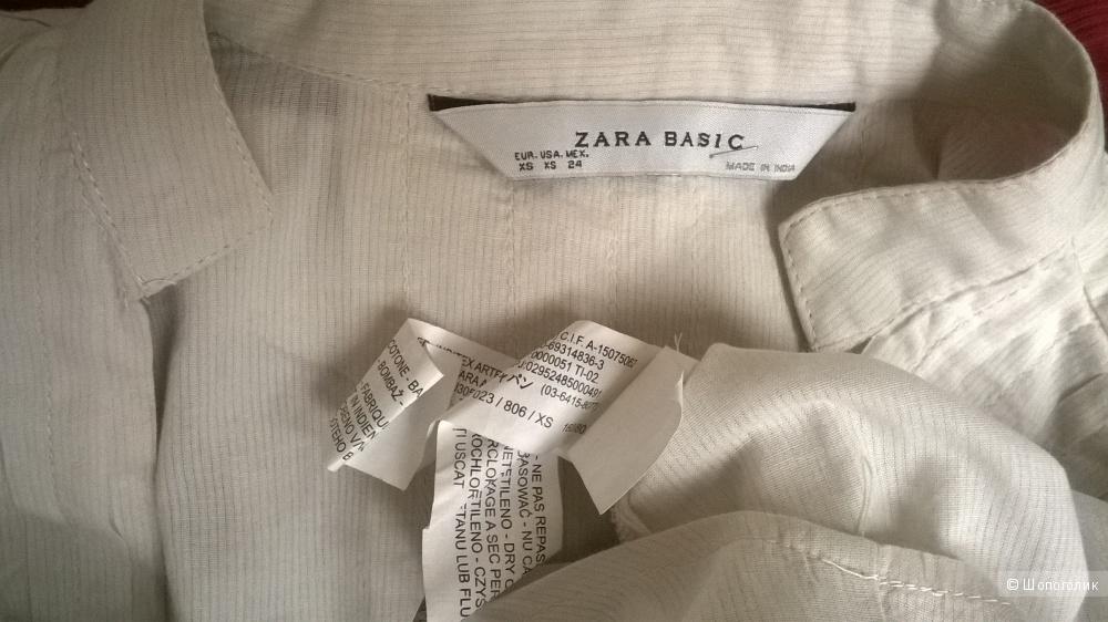 """Рубашка блуза   """"ZARA""""    р.XS"""