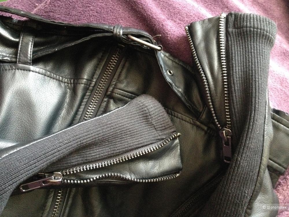 Куртка-косуха H&M EUR 36, XXS, XS, 6, rus 38, 40