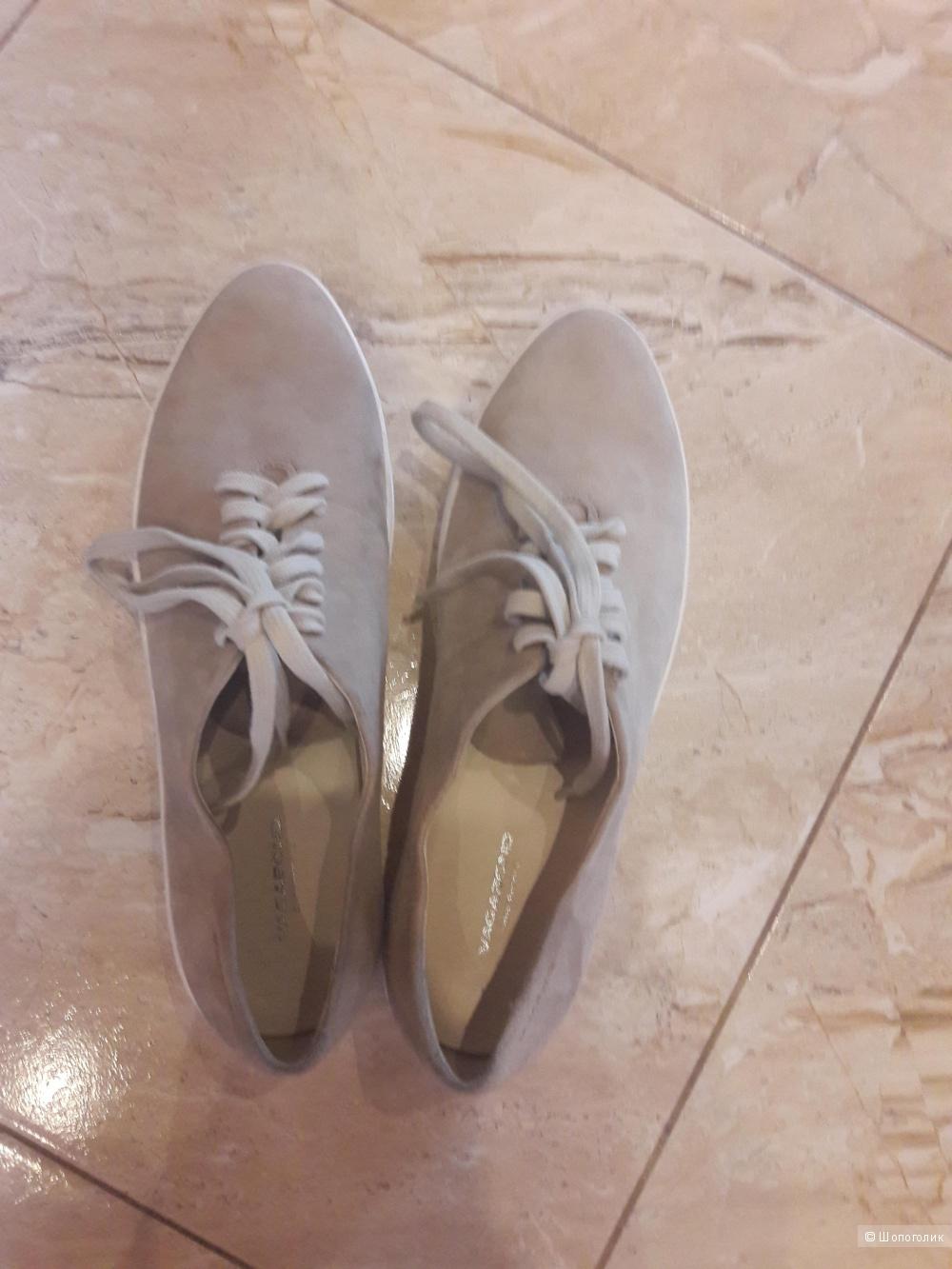 Замшевые туфли Vagabond 40 -40.5 размера