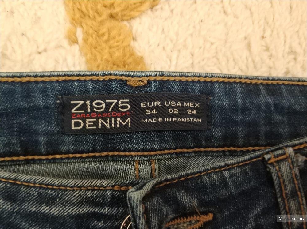 Джинсы-скинни Zara XS-S