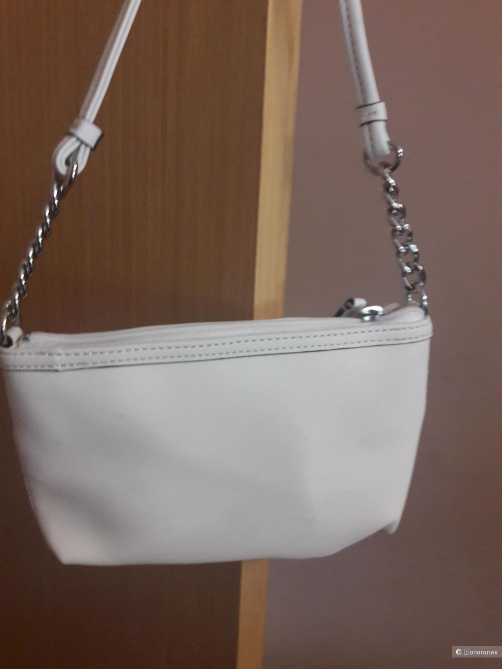 Кожаная сумка Calvin Klein Hayden Cross-body Bag