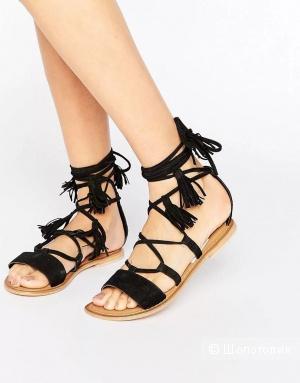 Замшевые сандали Asos UK2