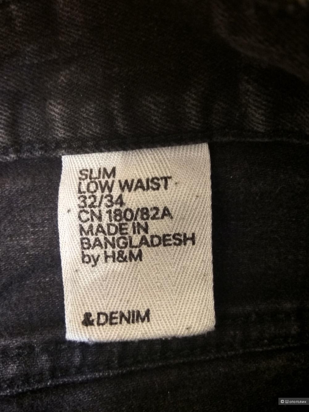 Джинсы, размер 32/34, фирма H&M