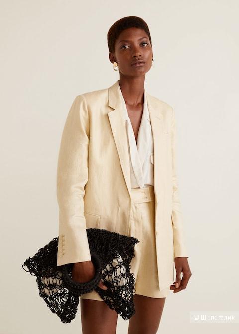 Пиджак льняной Mango 36
