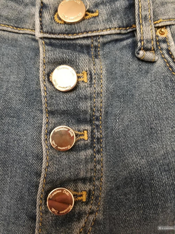 Голубые джинсы-скинни Massimo Dutti XS-S