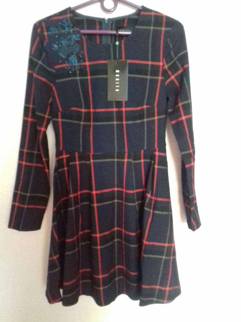 Повседневное платье,  MOHITO, размер 42 (XS)