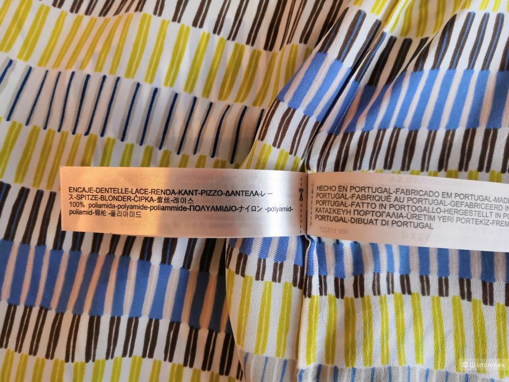 Шелковый топ  Massimo Dutti  разм.UK 10 /EUR 38