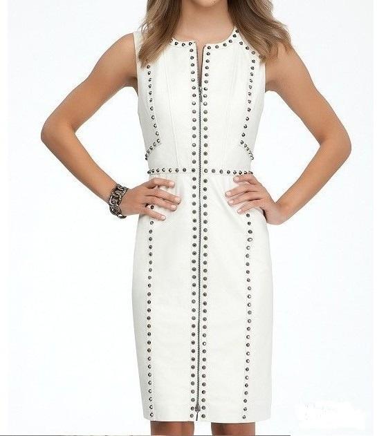 Кожаное платье Bebe размер  40-42