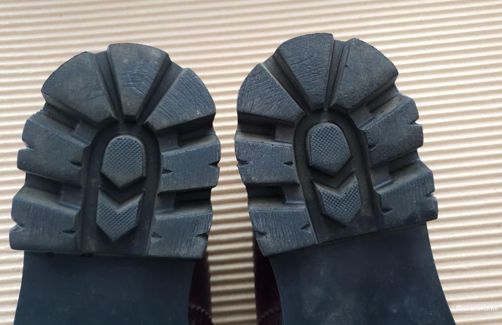 Кожаные лоферы Abn, размер 39