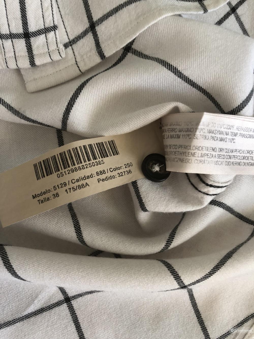 Рубашка Massimo Dutti , 38 eur, 42-44 rus