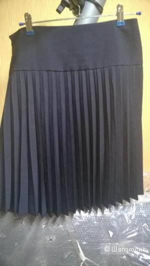 Юбка плиссе, бренд не известен, размер 44