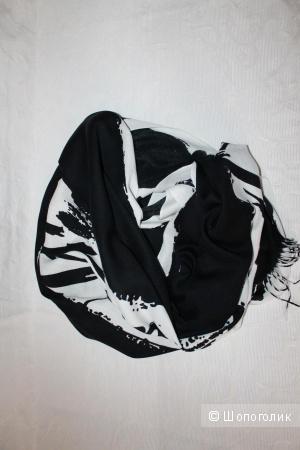 Палантин Pashmina, шерсть/шелк, размер 82х185