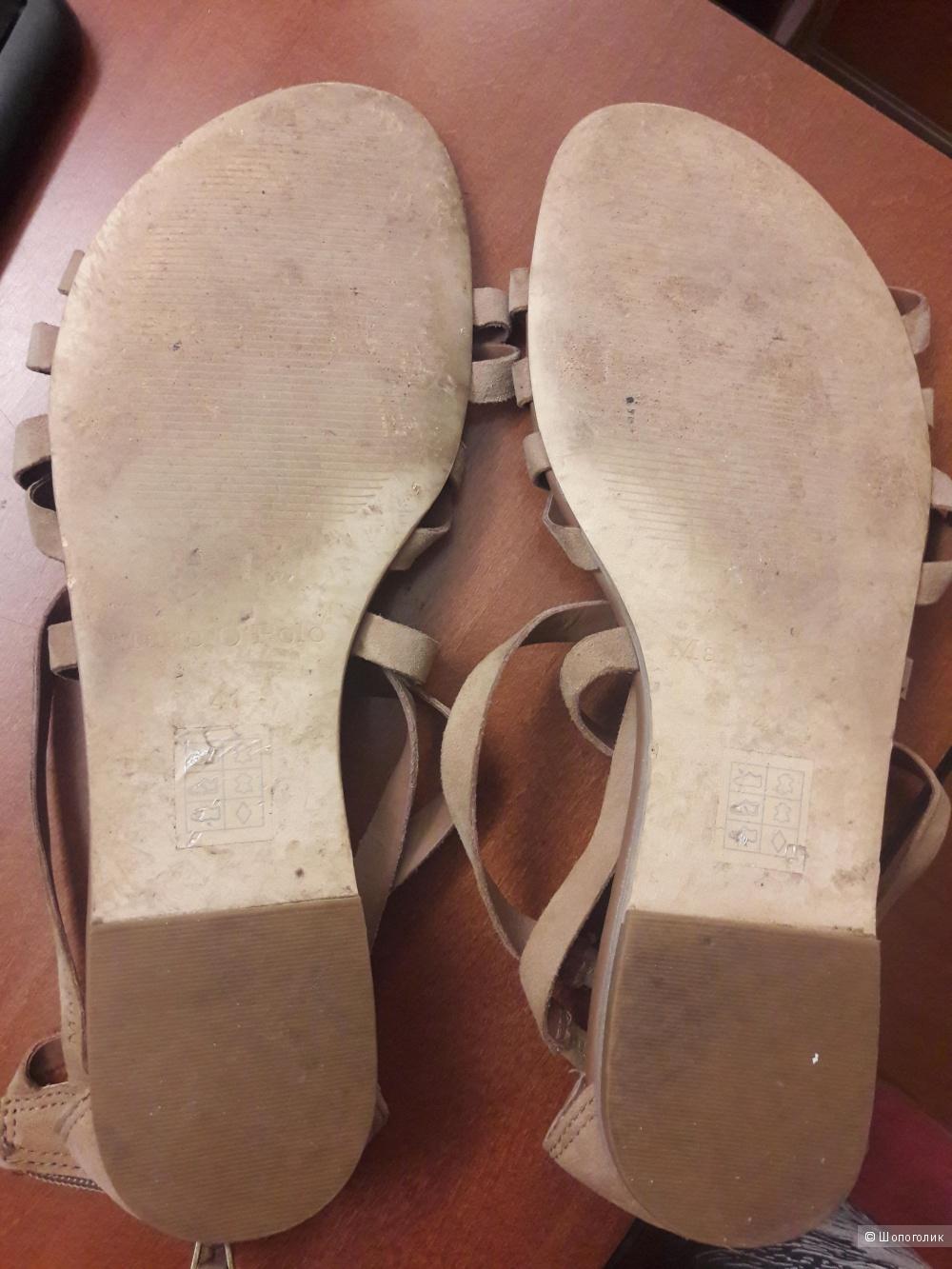 Замшевые сандалии Marc o Polo 40 размера