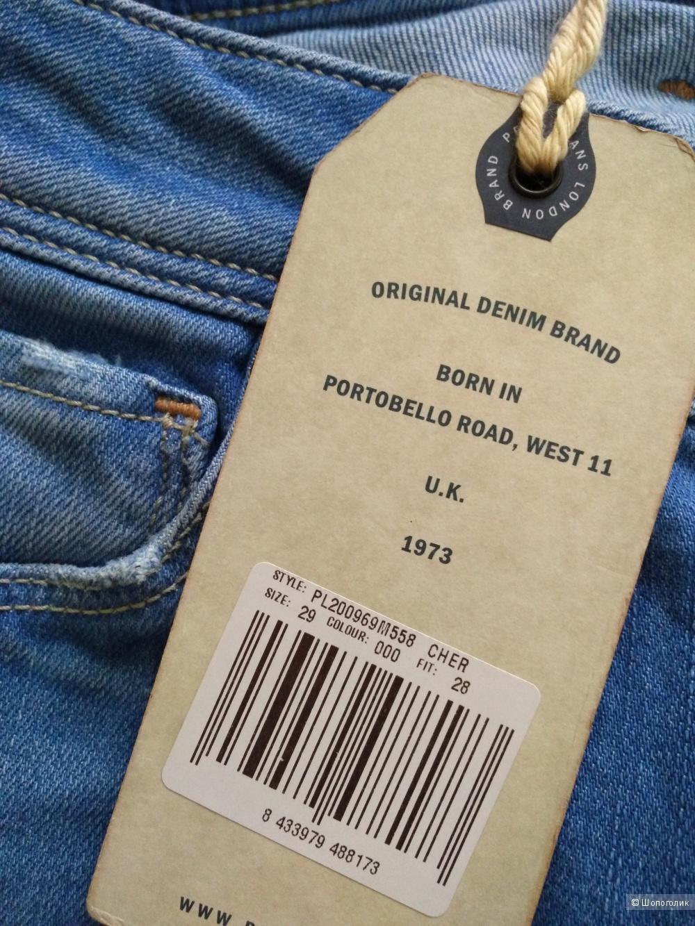 Джинсы Pepe Jeans размер 29 рост 28
