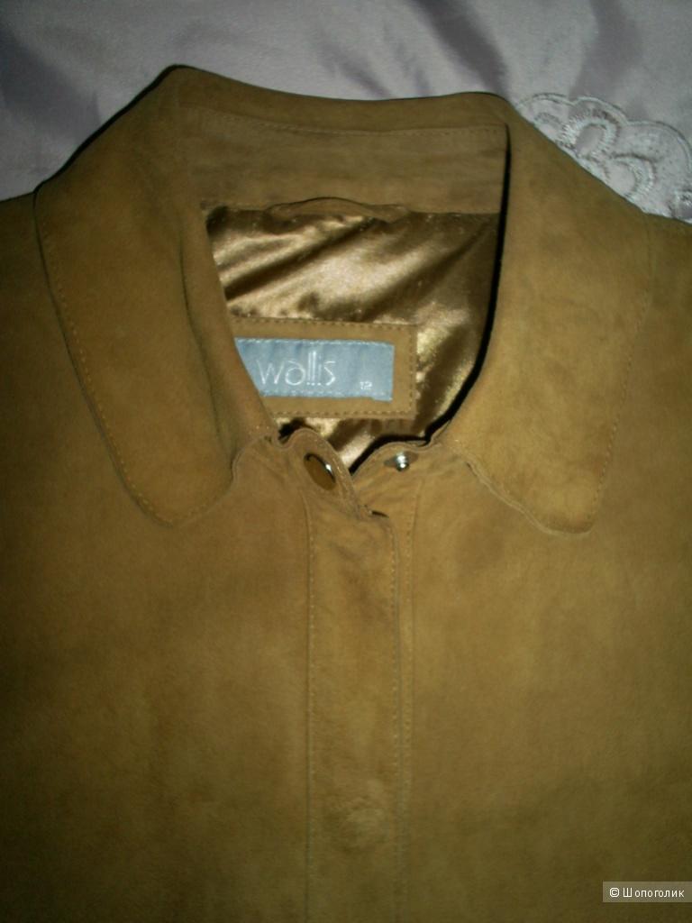 Куртка-рубашка от Walis р 12 на 46 русс.