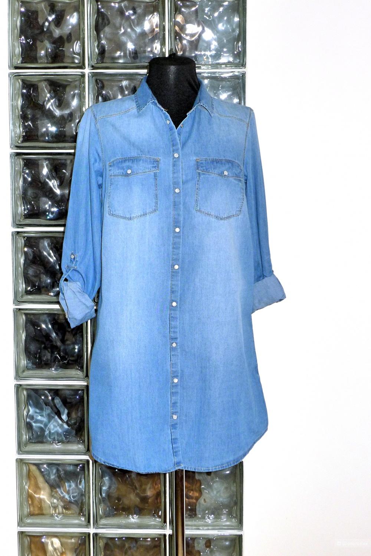 Рубашка- платье STRADIVARIUS размер M S