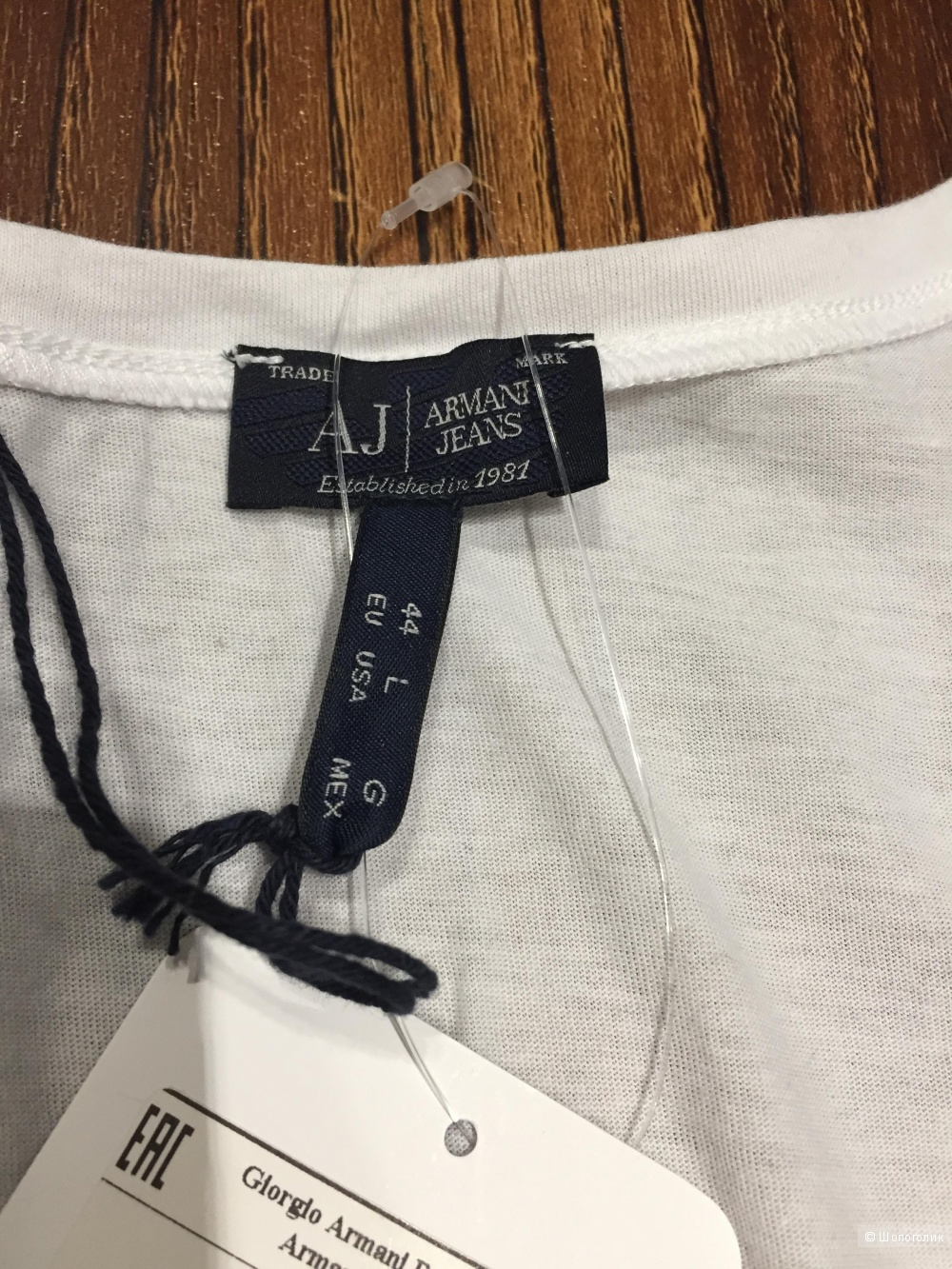 ARMANI женская футболка р.L