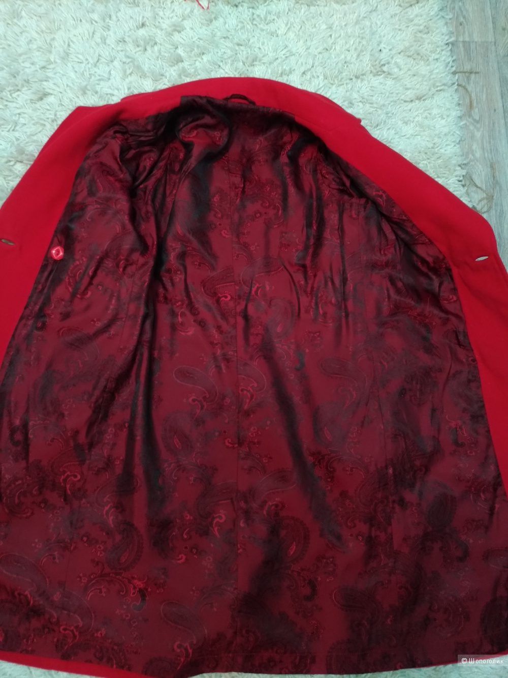 Пальто  no  name, размер  42-44