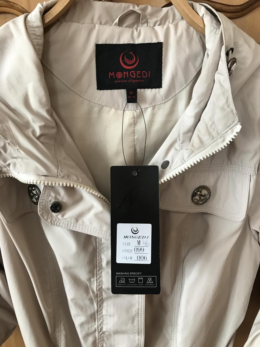 Куртка плащ Mongedi размер 46