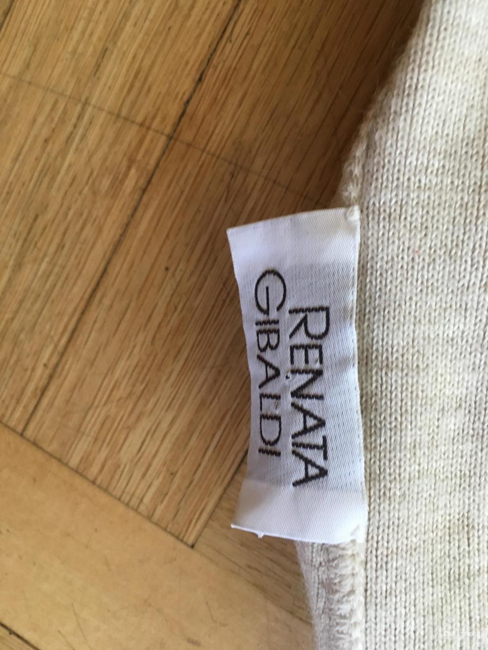 Кардиган с палантином Renata Gibaldi, one size