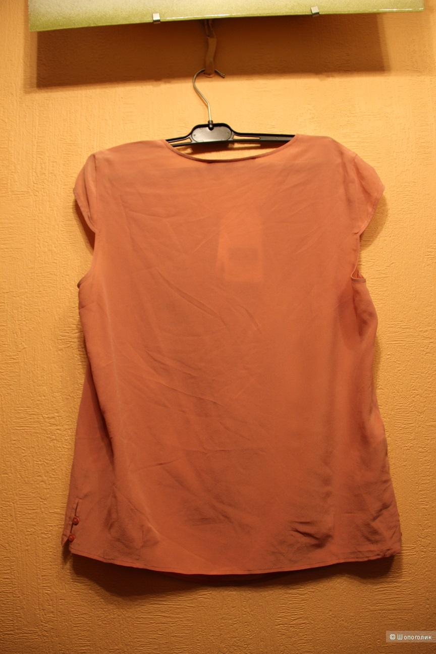 Шелковая блузка Comptoir des Cotonniers, фр.42, US L на наш 46-48