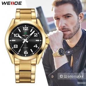 Черные мужские часы WEIDE