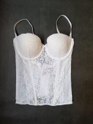 Продам белый свадебный корсет-бюстье Victorias Secret. Размер 34В