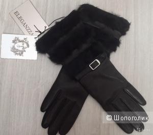 Перчатки eleganzza, размер 6-6.5