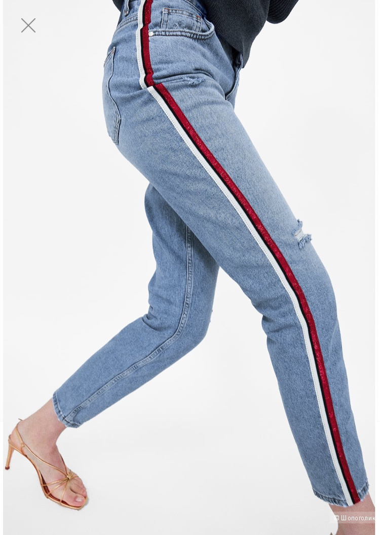 Джинсы Zara, размер 38=S-M