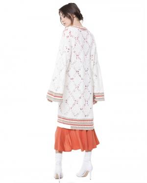 JUICY COUTURE вязаное пальто р.М