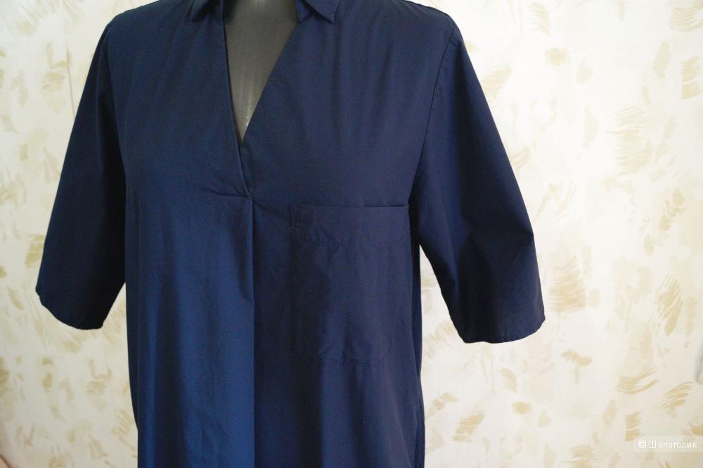 Платье-рубашка Uniqlo р.42-44-46
