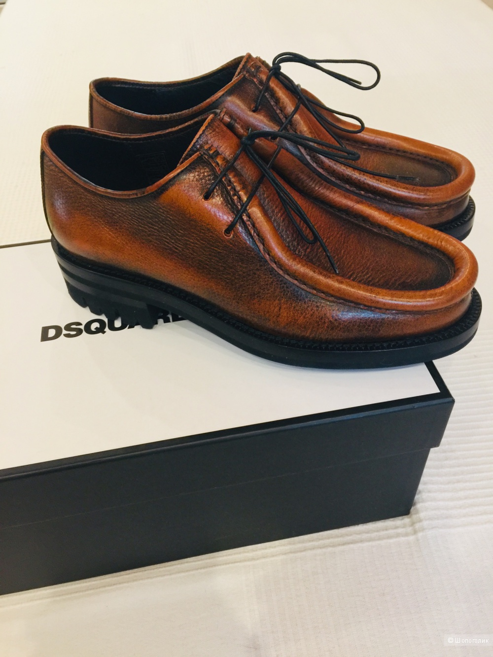Ботинки  DSquared р.42