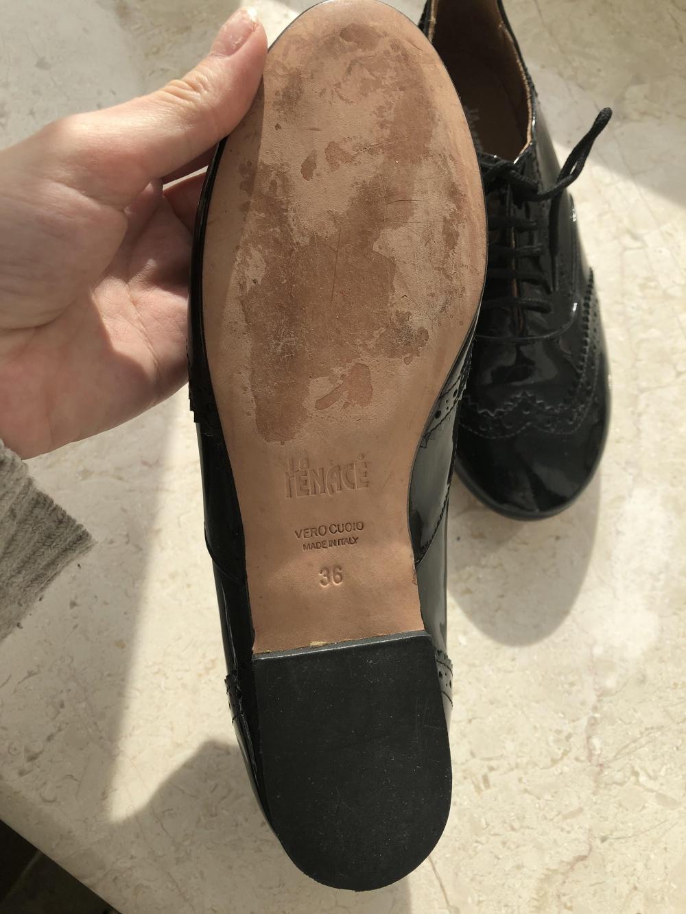 Туфли лаковые 36 размер