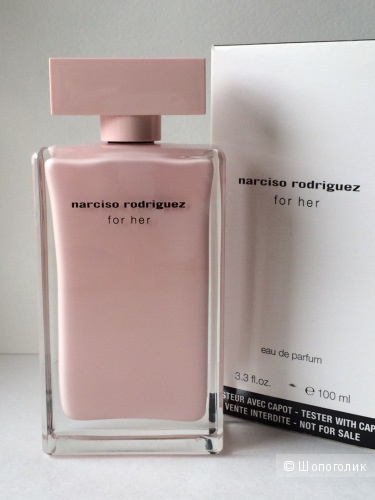 Narciso Rodriguez for her 100 ml.
