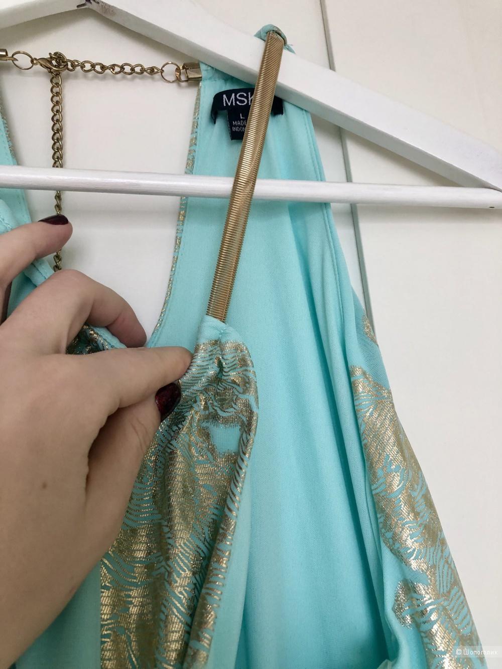 Платье MSK, L