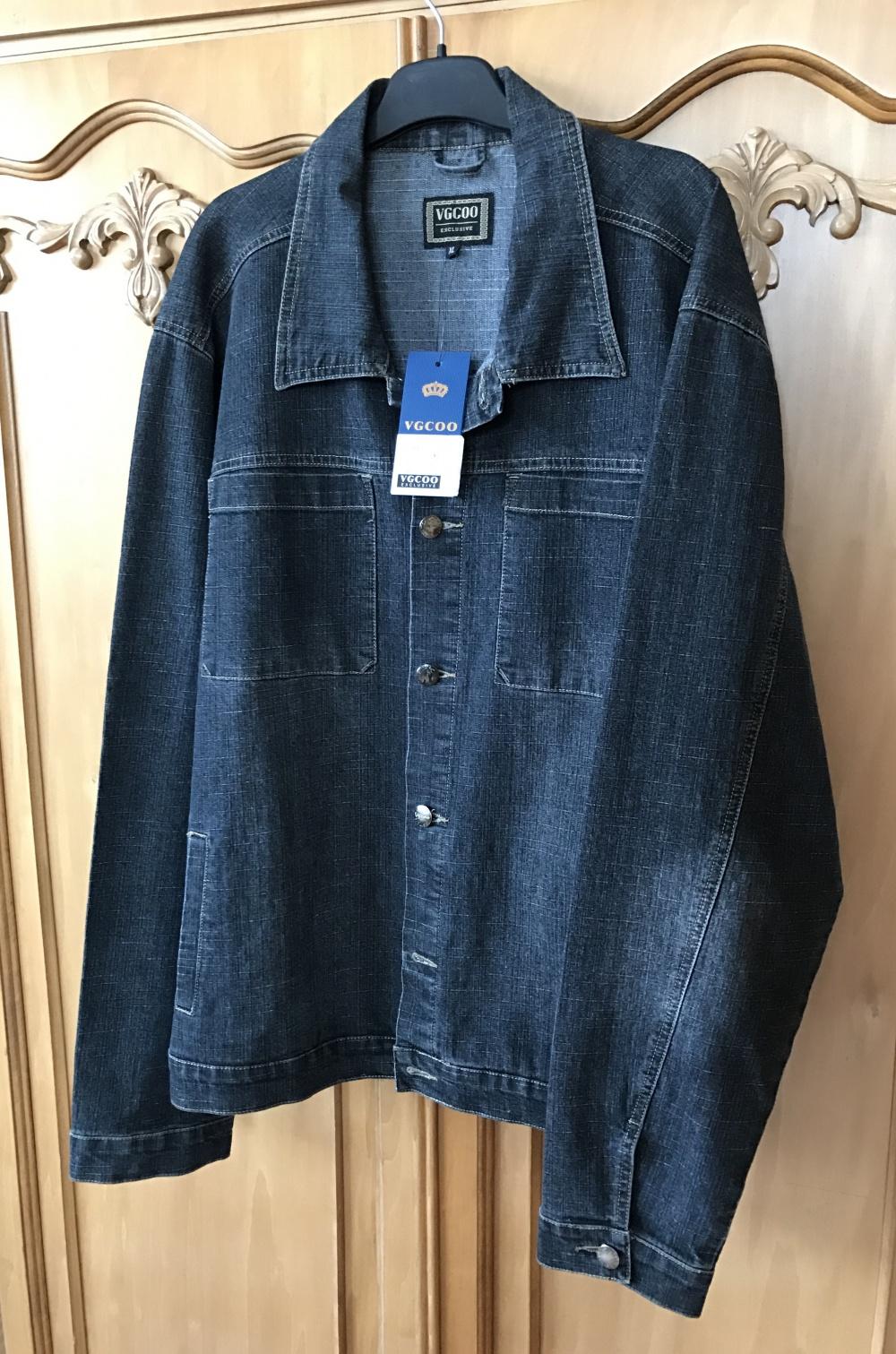 Куртка джинсовая VGCOO размер XL