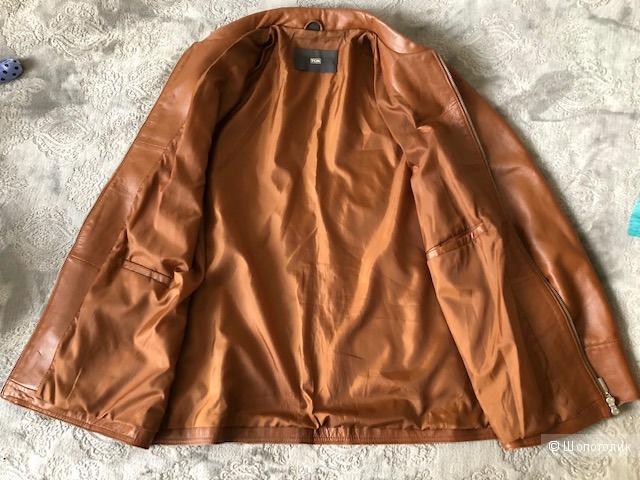 Кожаная куртка TCM, L