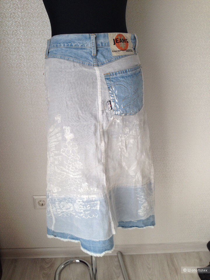 Юбка every garment guaranteed michiko koshino, размер 42-44