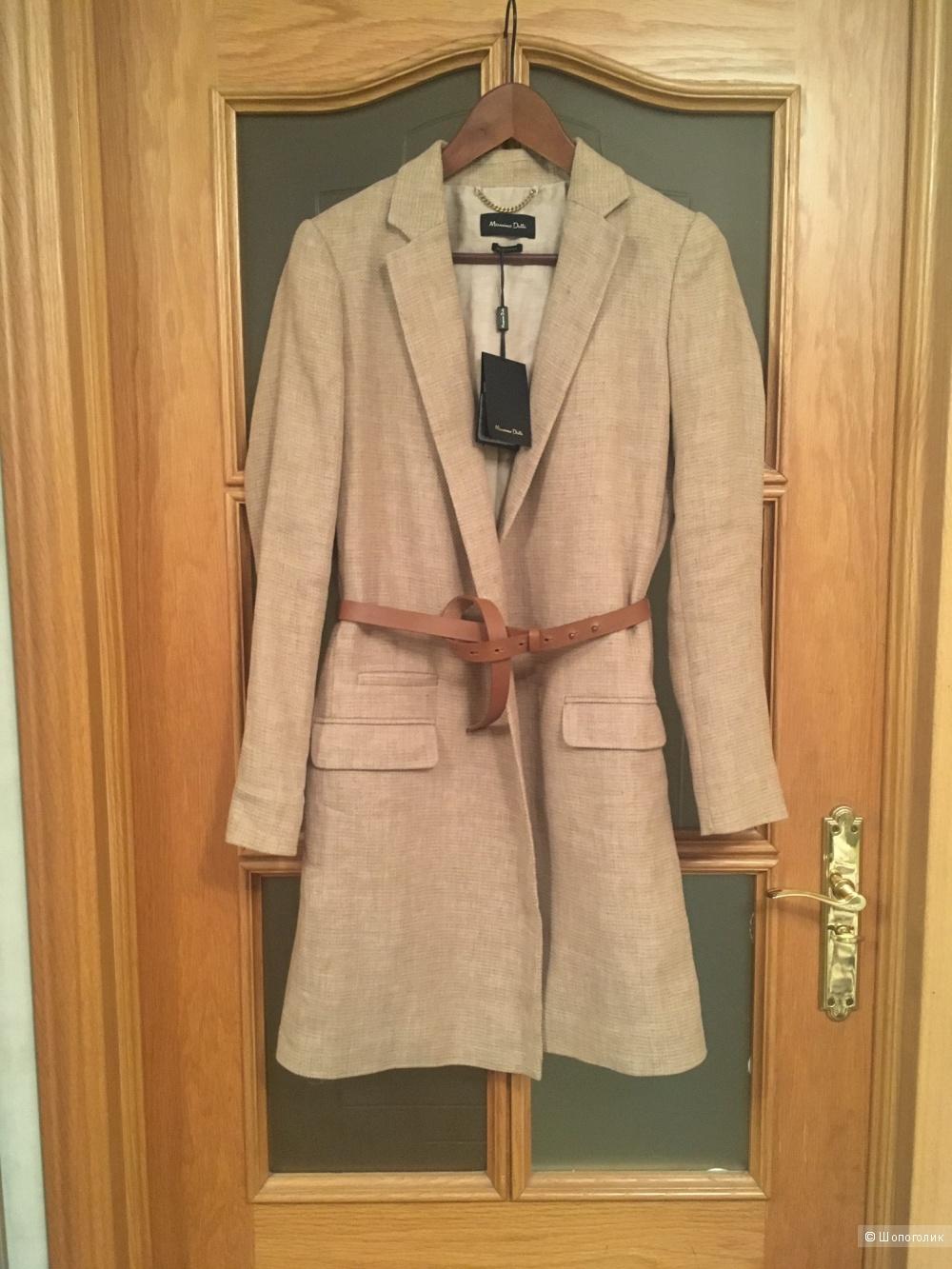 Легкое пальто Massimo Dutti размер 38