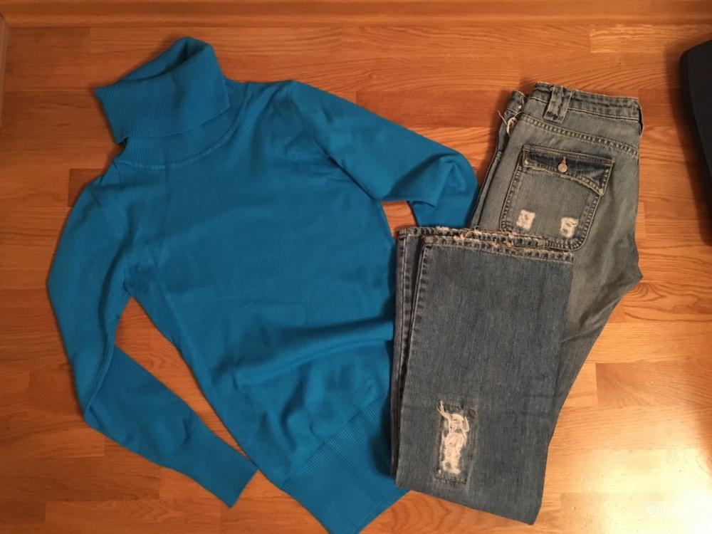 Сет джинсы-водолазка sabotage XS,26