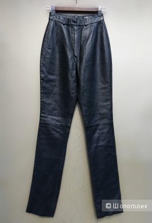 Новые кожаные брюки 40-42 размер (XS, S)