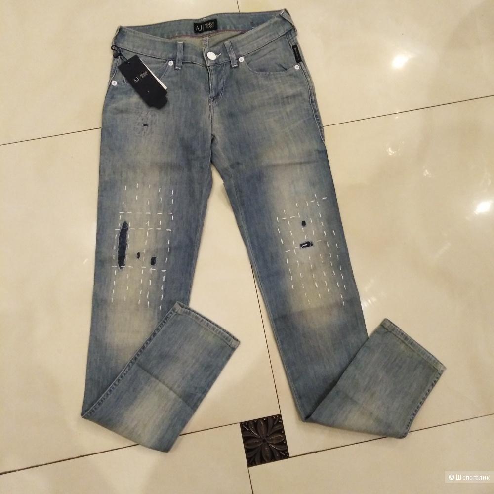 Джинсы Armani jeans  26 размер