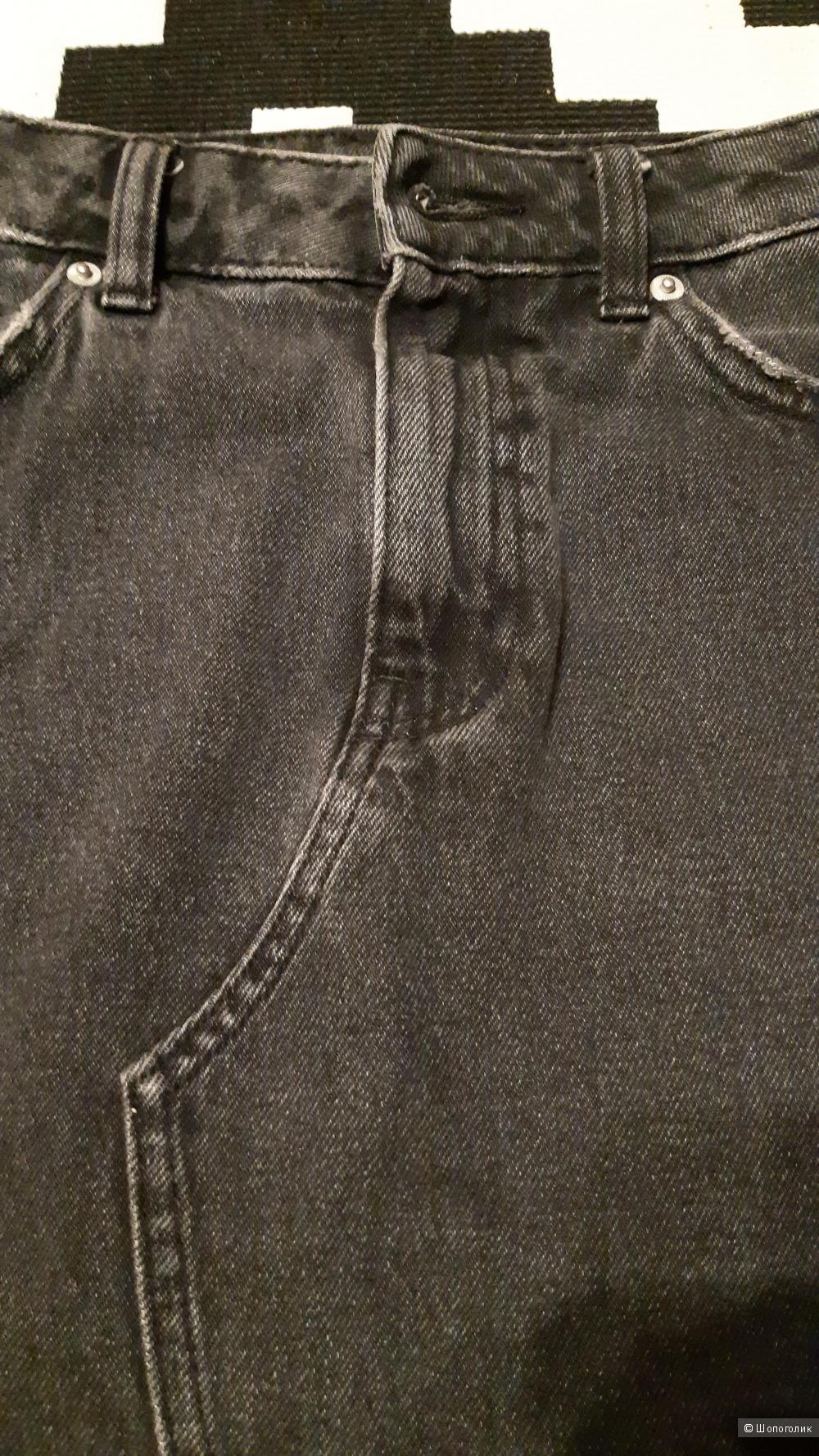 Юбка джинсовая hm 36 размер