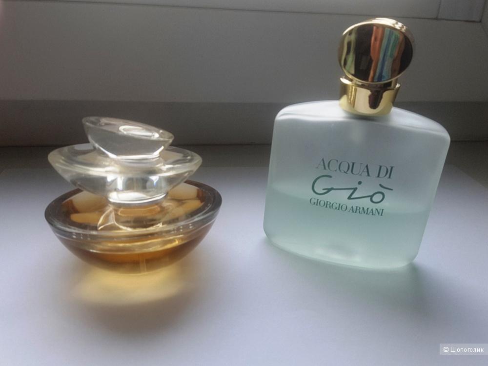Парфюм Insolence Guerlain тв 25/30 мл и подарок Acqua di Gio Giorgio Armani тв 20/50 мл